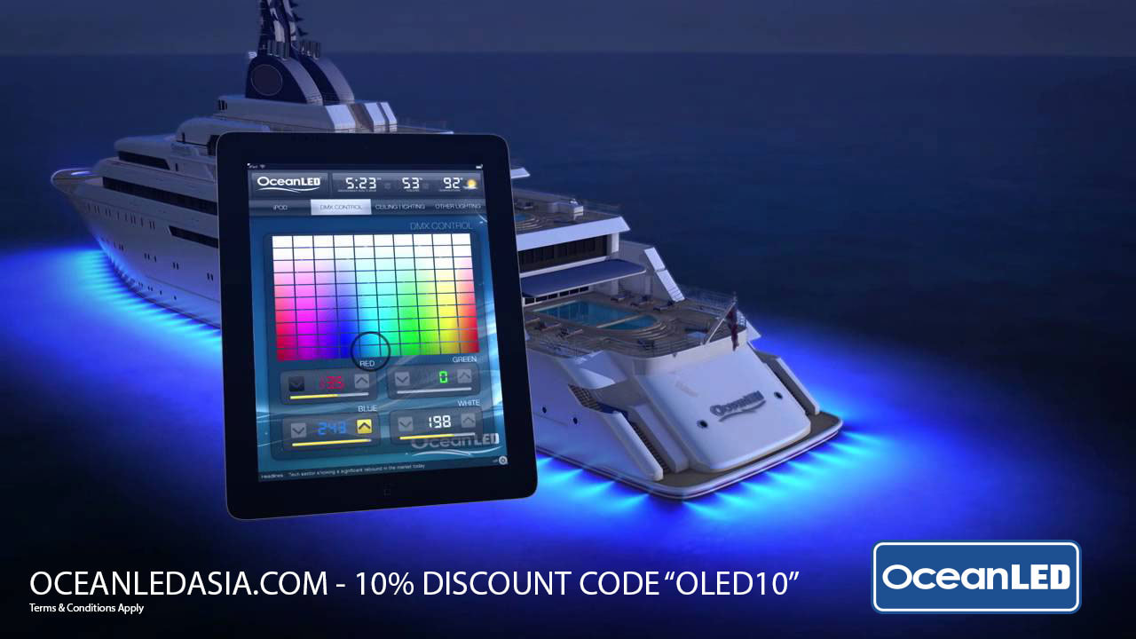 OBMG OceanLED Underwater Lights - Marine & Yachts